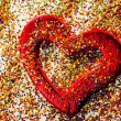 Stock Photo: Red shiny heart