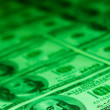 Green Money — Stock Photo