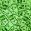 Green Money — Stock Photo