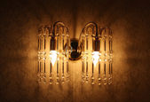 Beautiful wall sconce — Stock Photo