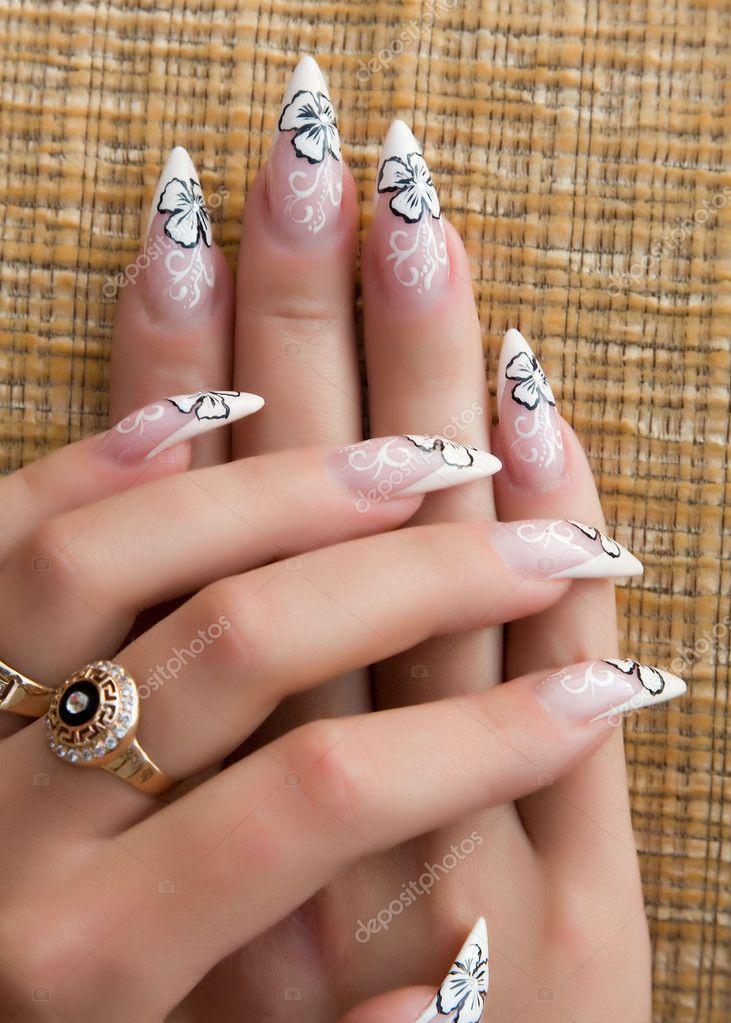 Дизайн ногтей стилет 2017 фото