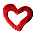 Red Heart Valentine — Stockfoto