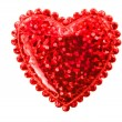 Red Heart Valentine — Stock Photo