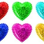 Сердца Валентина — Стоковое фото
