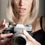 Pretty photographer — Stock Photo #9587707