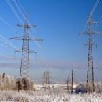 Electric main — Stock Photo