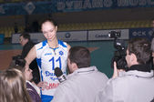 The attacking team Dynamo (Kazan) Ekaterina Gamova — Stock Photo