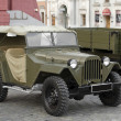 Soviet military car GAZ-67 — Stock Photo #9123384