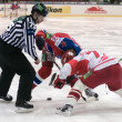 Hockey match Spartak-CSKA — Stock Photo
