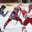 Hockey match Spartak-CSKA — Stockfoto
