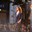PRAGUE-SEPTEMBER 24 A model walks the runway during the 2011 au — Stock Photo #7988777