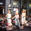 PRAGUE SEPTEMBER 24 A children model walks the runway during the — Stock Photo
