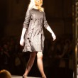 PRAGUE SEPTEMBER 24 A model walks the runway during the 2011 aut — Stock Photo #7989335