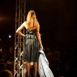 PRAGUE SEPTEMBER 24 A model walks the runway during the 2011 aut — Stock Photo #7989383