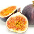 Big juicy figs isolated on white — Stock Photo #8519004