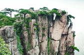 Huangshan set of peaks — Stock Photo