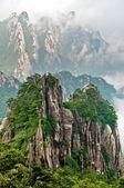 Huangshan peak — Stock Photo