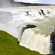Gullfoss waterfall in iceland — Stock Photo