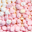 Meringue background - Stock Photo