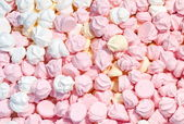 Meringue background — Stock Photo