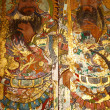 图库照片: Art on chinese church door
