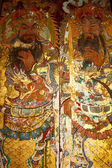 Art on chinese church door — Foto Stock