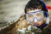 Dykning — Stockfoto