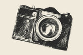 Old school photography — Stock Photo