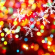 Christmas snowflakes — Stock Photo #8185869
