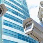 Surveillance cameras — Stock Photo