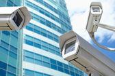 Câmeras de vigilância — Fotografia Stock