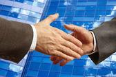 Business handslag — Stockfoto