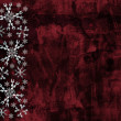 Grunge snowflakes background — Stock Photo
