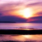 Purple sunset — Stock Photo #8160207