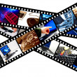 Computer filmstrip graphic - Foto Stock
