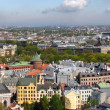 Riga northeastern panorama — Stock Photo