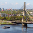 Stock Photo: Vansu Bridge over Daugava
