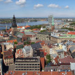 Riga panorama - Stock Photo