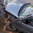 Car after traffic accident — Stock Photo #8161780