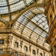 Galleria Vittorio Emanuele II — Stock Photo