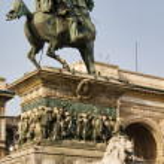 Vittorio Emanuele II Statue — Stock Photo