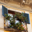 Italian window — Stock Photo