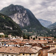 Royalty-Free Stock Photo: View over Riva del Garda