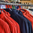 Polar fleece jackets — Stock Photo