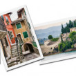 Collage of Lake Garda photos — Foto Stock