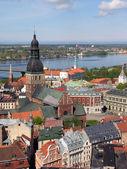 Riga panorama — Stock Photo