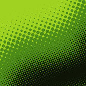 Green halftone background — Stock Photo