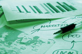 Marketing analyze — Stock Photo