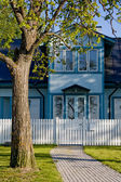 Blue Home — Stock Photo