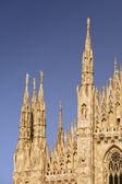 Catedral de milán — Foto de Stock